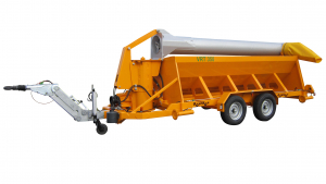 Mobile auger loading unit