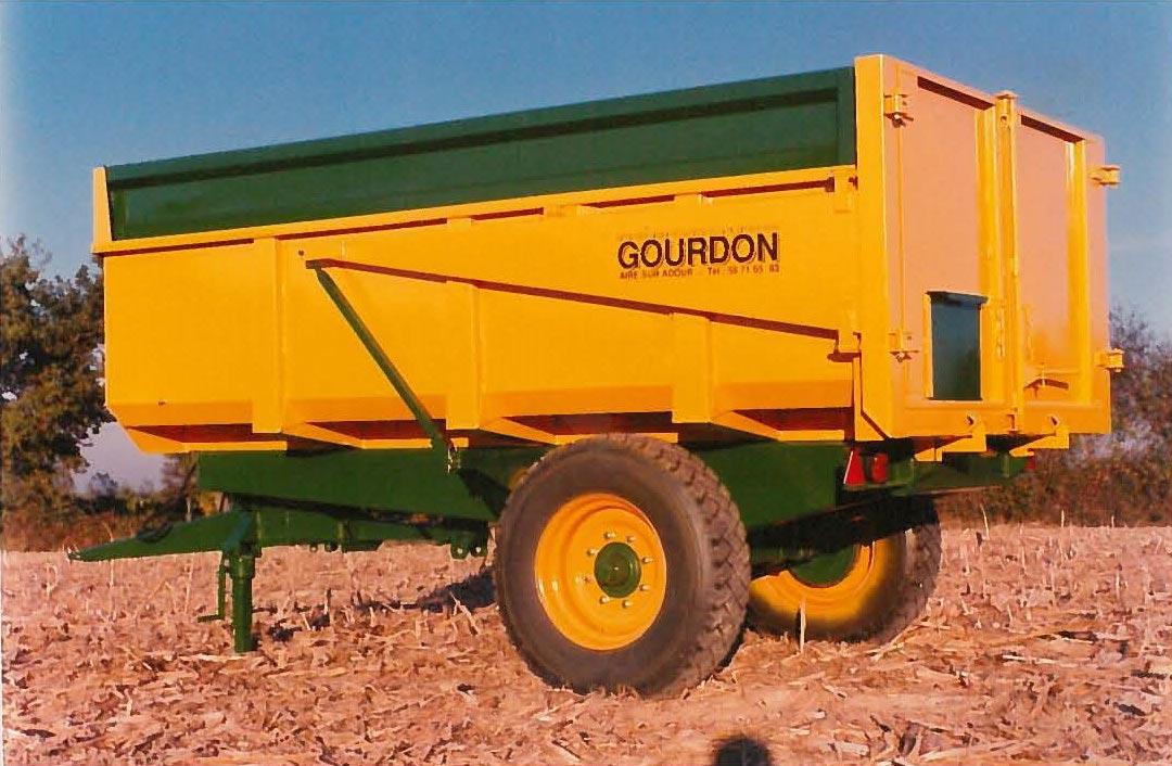 Remorque monocoque Gourdon 1980