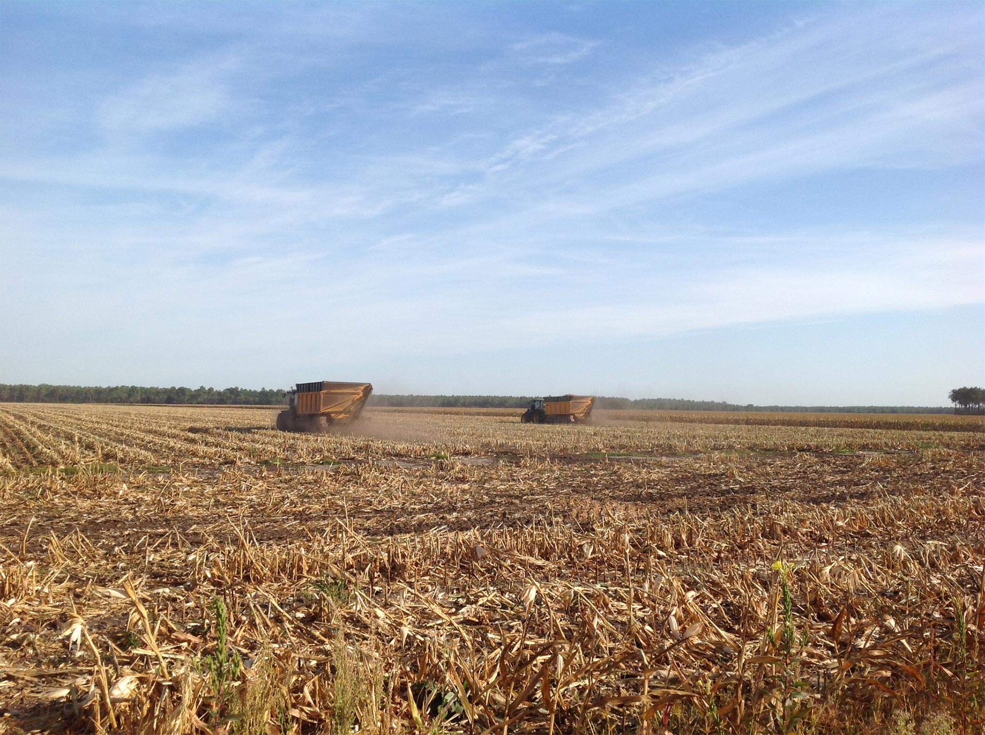 Remorque agricole Gourdon