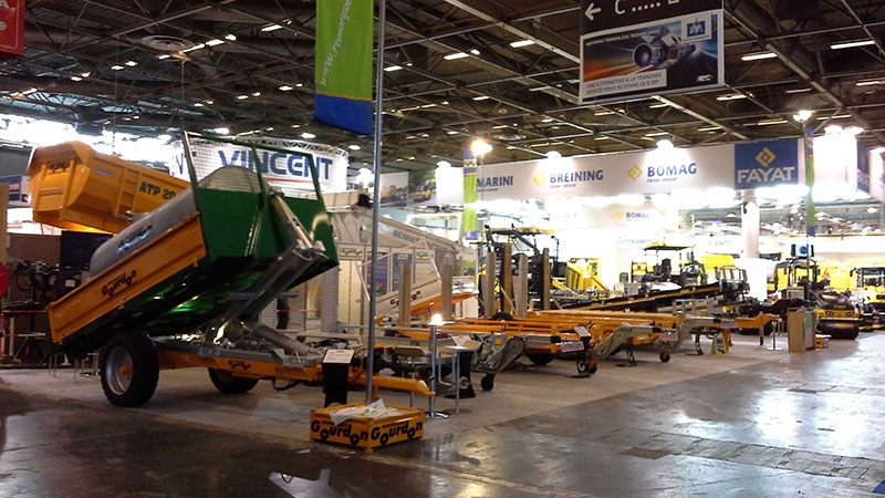 Salon professionnel remorques agricoles