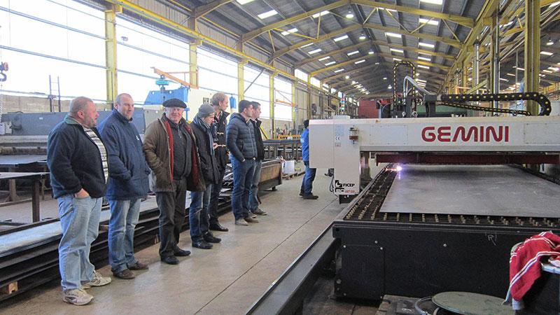 Visite de l'usine Gourdon
