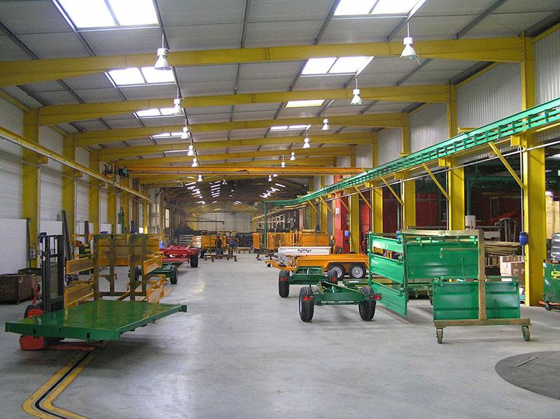 Intérieur de l'usine
