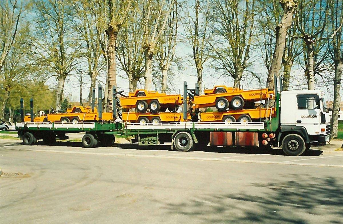 Remorques Travaux Publics Gourdon 1992-1995