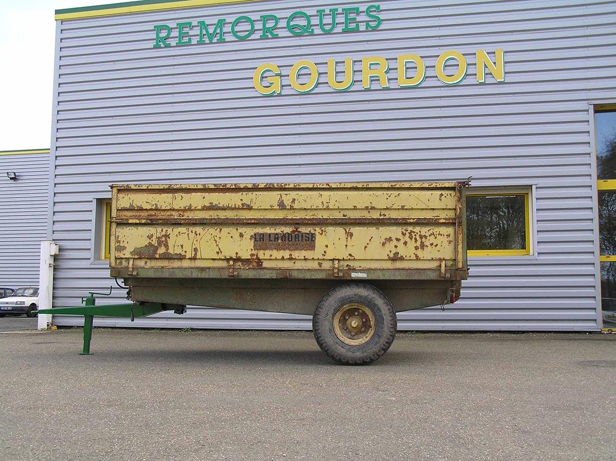 Photo première remorque Gourdon 1973