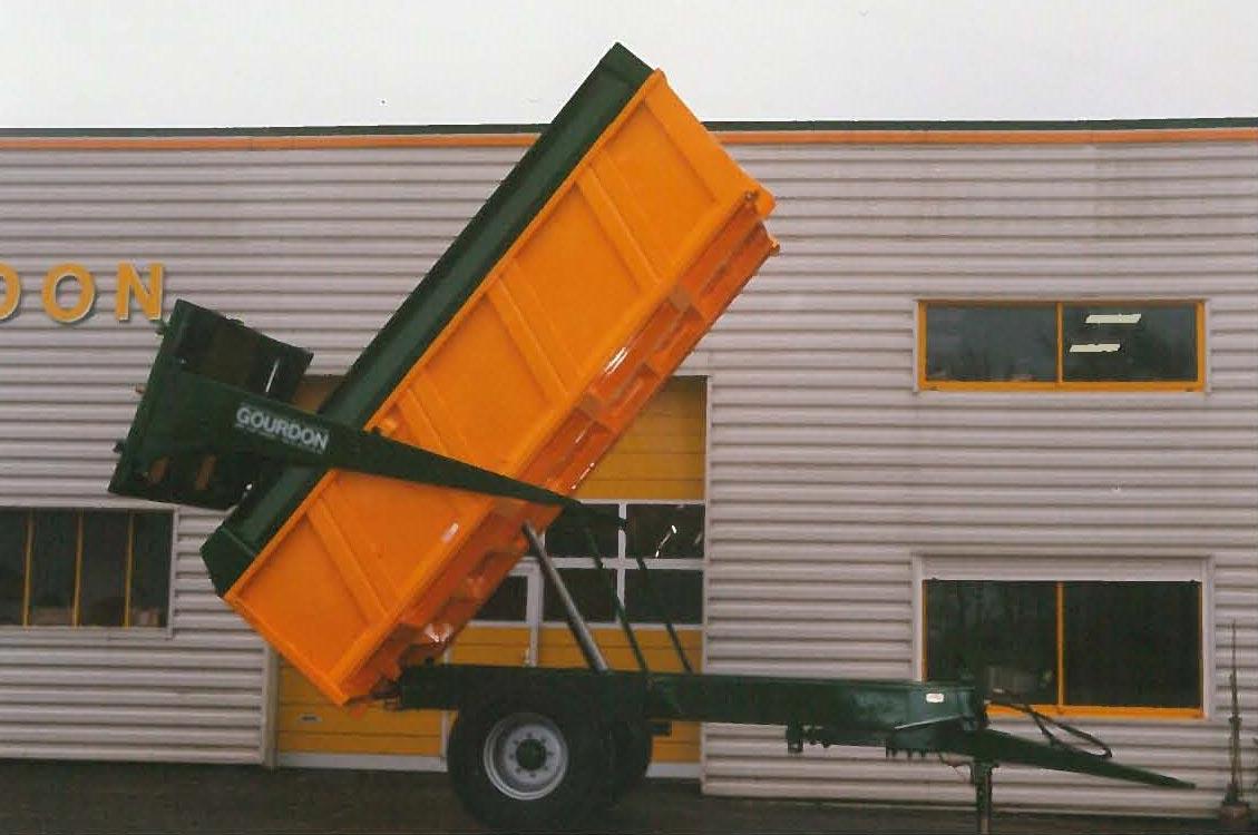Remorque monocoque Gourdon 1999-2005